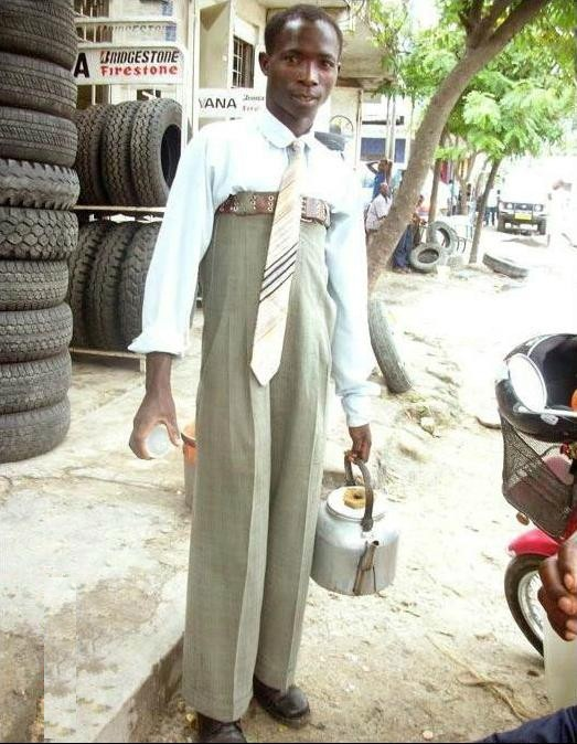 High Waisted Pants For Men