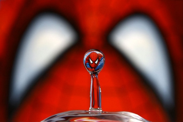 Spiderman Water 562