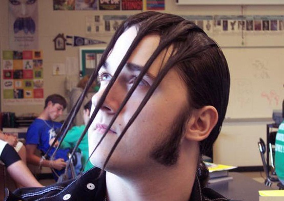 Prison-Face-651 - Weird hairstyles... - Weird and Extreme