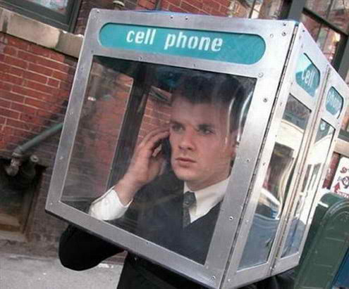 Cell Phone Booth 892