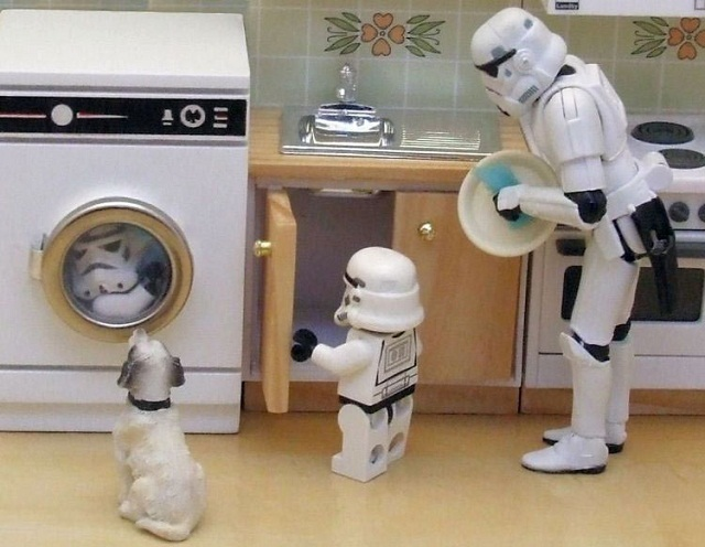Stormtrooper Family 672