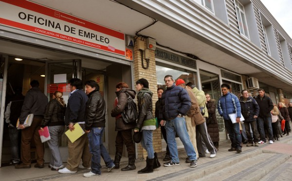 unemployed Spain