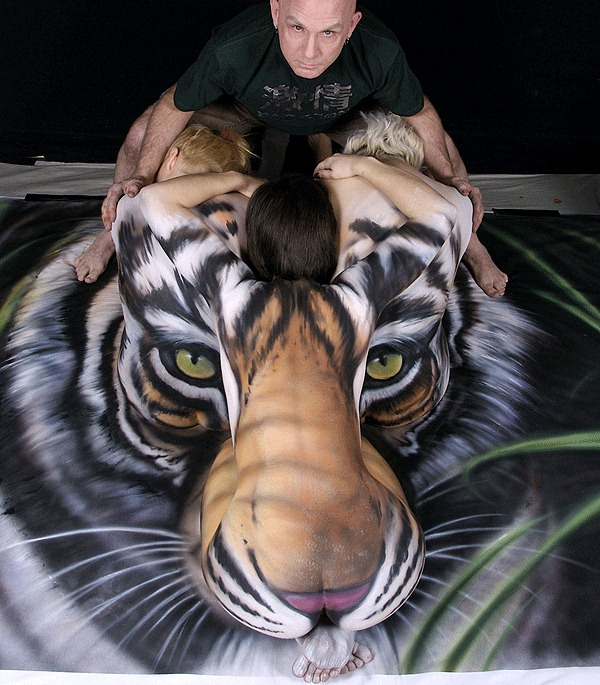Crazy tiger art 304