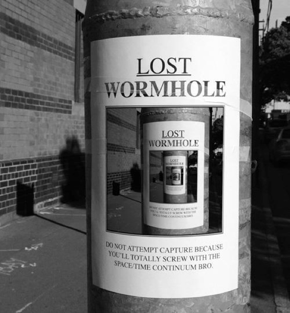 Lost wormhole 16666