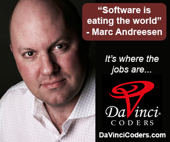"DaVinci Coders - ""Software is eating the world"""