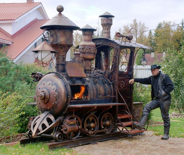 Locomotive Barbecue 2fh40