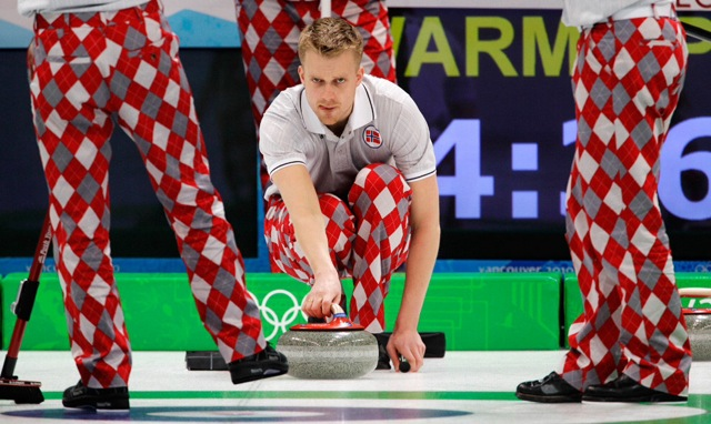 Norwegian Curling Team 138kcb