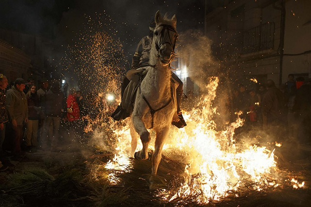 Riding a horse through fire 2f4hj1q