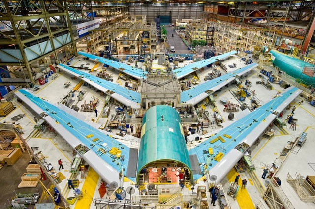 Boeing 747 final assembly 5g6h