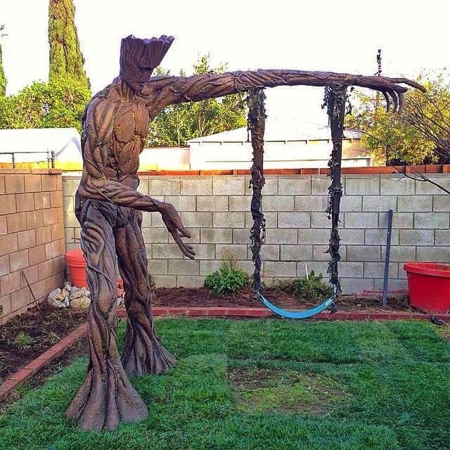 Amazing Groot swing 7y5d434