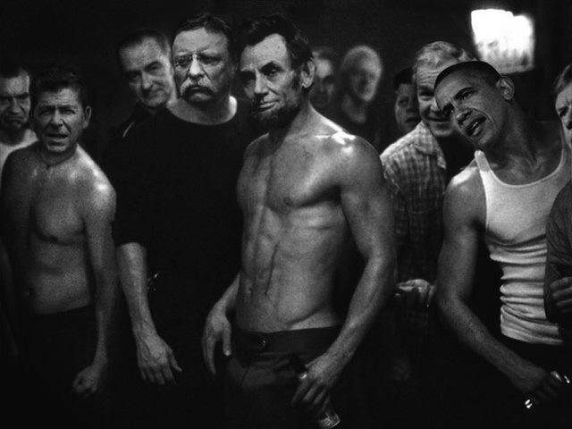 Presidential Fight Club 2f4b
