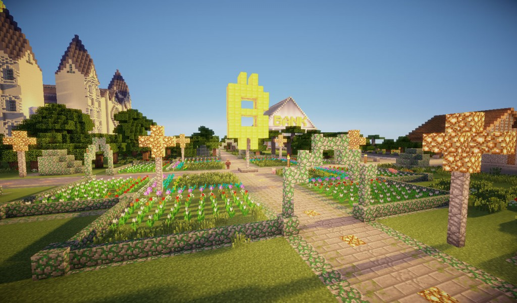 Satoshiland in Minecraft 62h