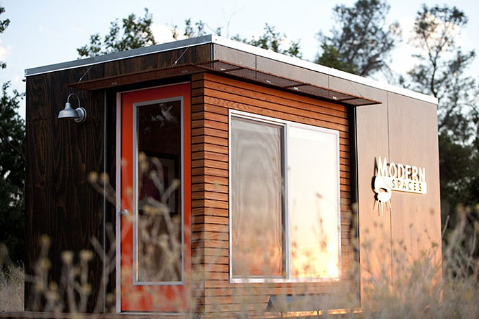 New trend for home based businesses shedquarters for Modern office shed