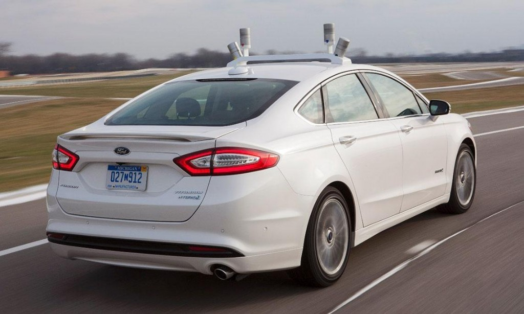 Ford Driverless Car 2016