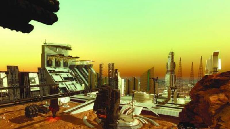 1st city on Mars 2117 1