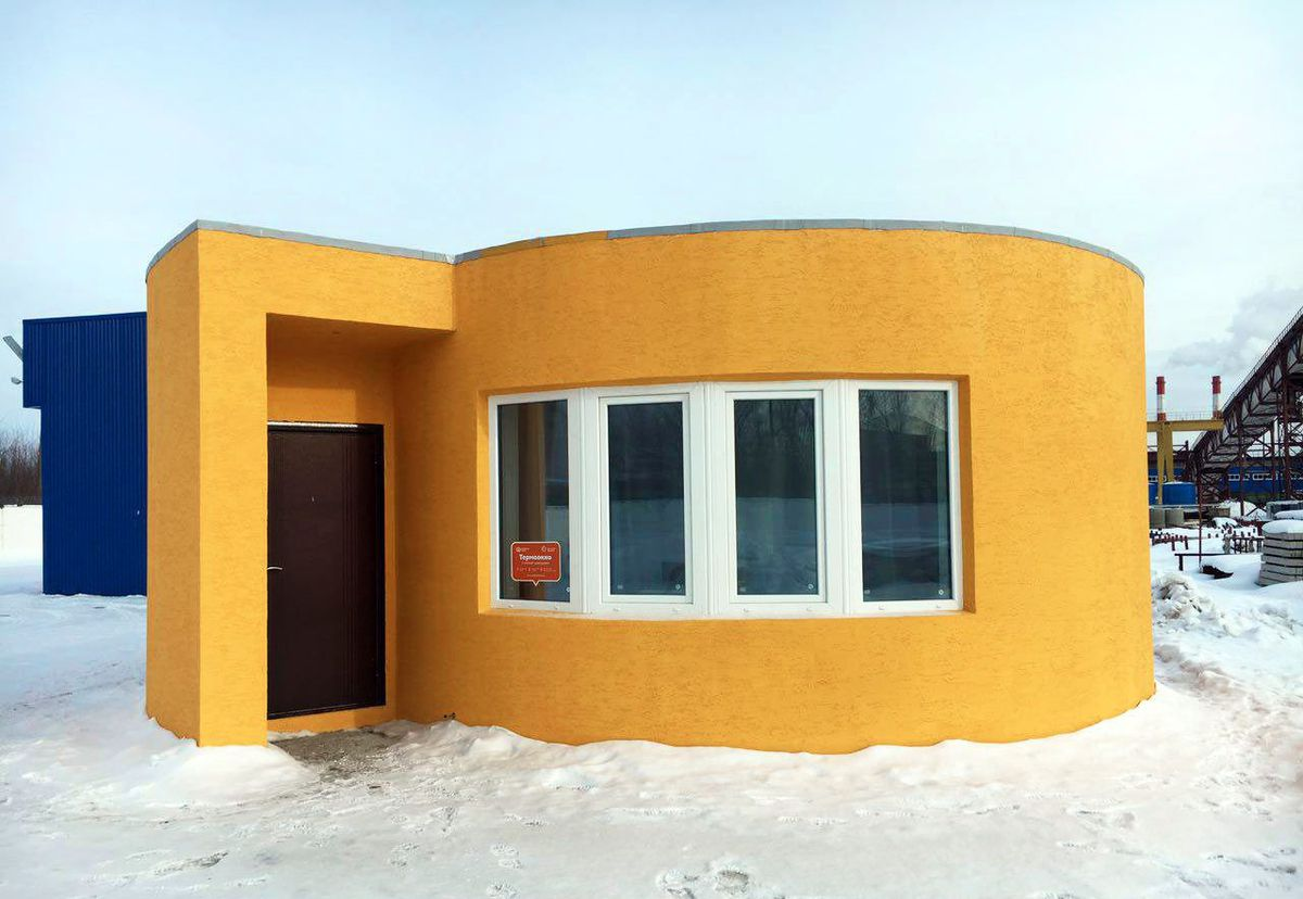 First 3D printed house in Russia for $10,000