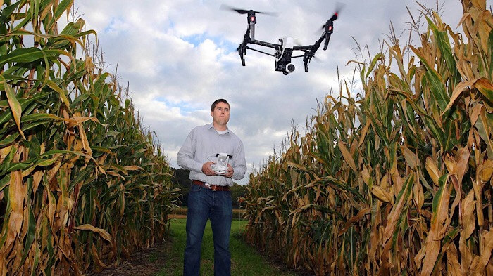Drones set to take off over farm fields
