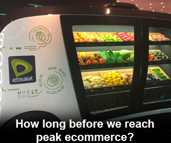 How long before we reach peak ecommerce?
