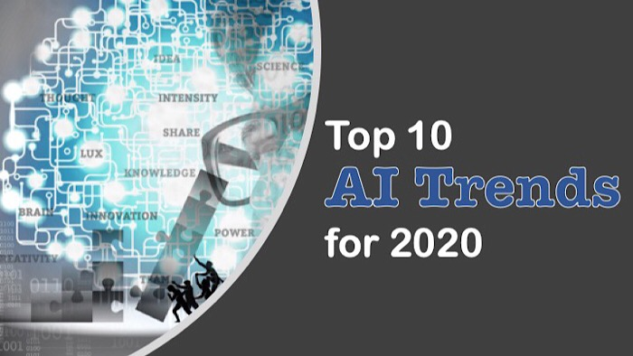 top 10 Artificial Intelligence trends for 2020